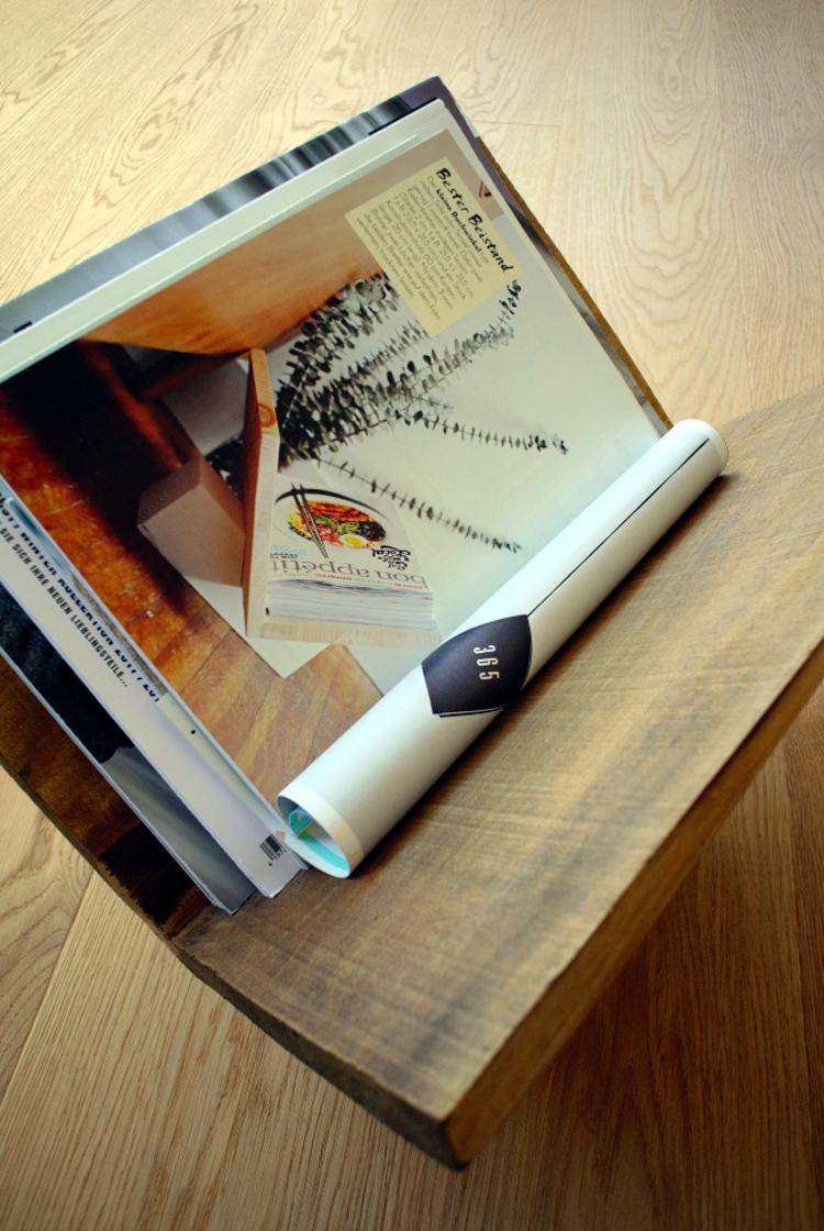 Zeitschriftenständer Holz