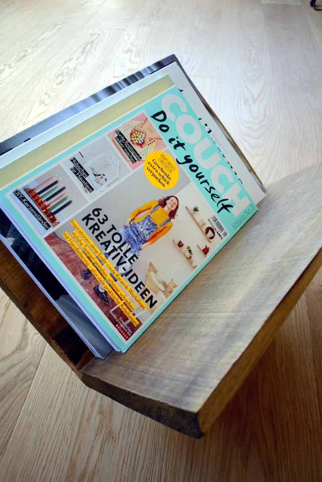 • diy • Zeitschriftensammler aus Holz • ein Meister