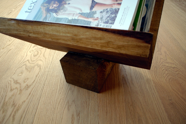 • diy • Zeitschriftensammler aus Holz • hält was er verspricht