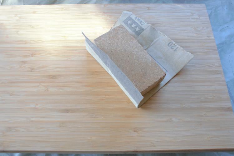 •diy • Einkaufszettel • Halter aus Holz selber machen • Holz schleifen