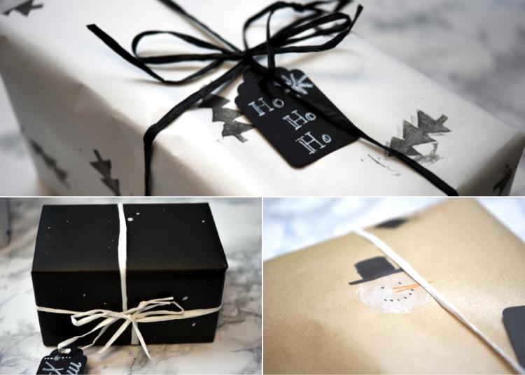 • diy • Geschenkpapier selber designen •  freude verschenken