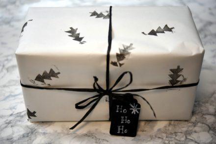 Geschenkpapier Tannenbaum