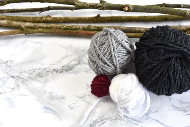 • diy • Pusteblumen aus Wolle • Wollresten