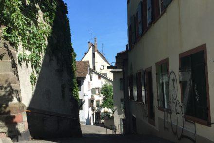 • tell a story • Geschichten erzählen über meine Stadt Basel • Seitengasse