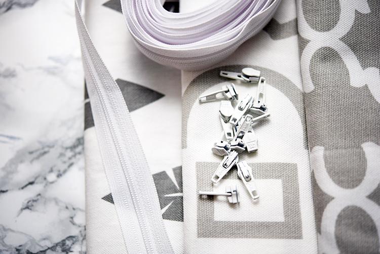 nähen • Zipperhalter im Test • Materialwahl