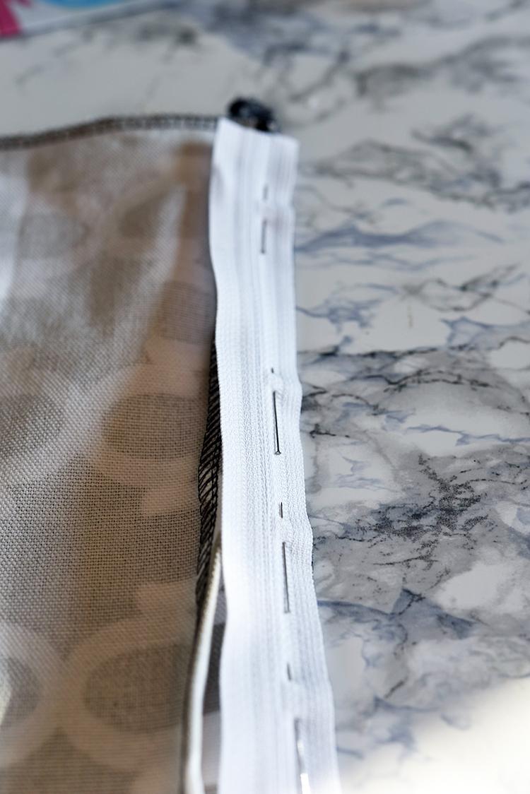nähen • Zipperhalter im Test • Reissverschluss einsetzen
