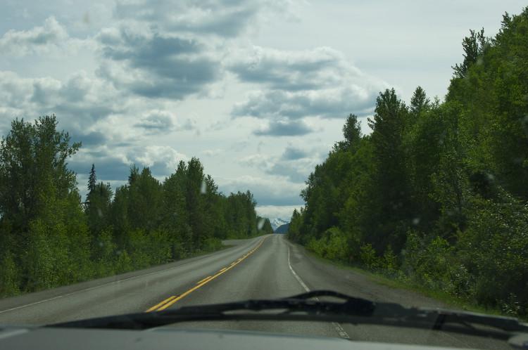 Durch die Wälder von Kanada