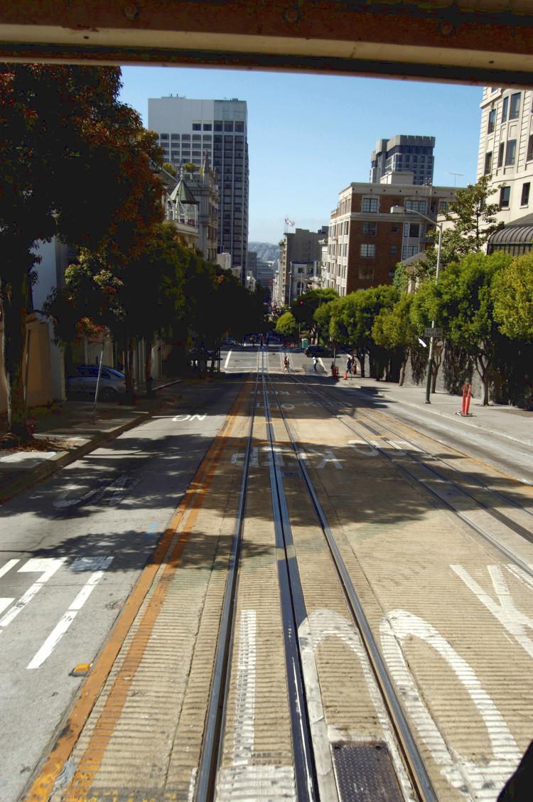 • tell a story • unterwegs mit Bus und Bahn • San Francisco