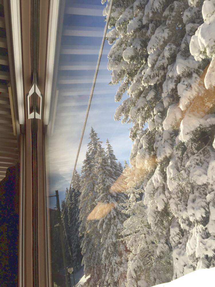 • tell a story • unterwegs mit Bus und Bahn • Zugfahrt Davos