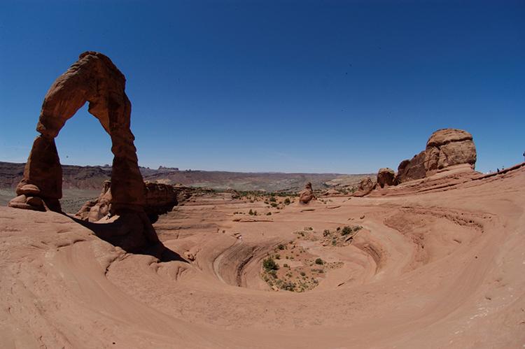tell a story • zu Fuss unterwegs • Arch Canyon