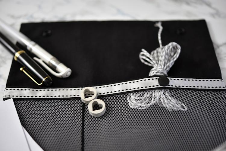 Taschenspieler 4 - mein Roll up • schwarz weiss