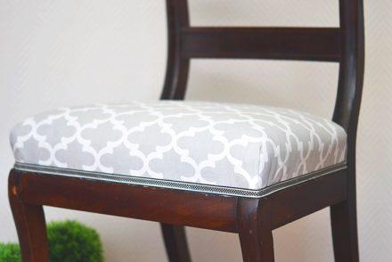 • diy • 5blogs1000Ideen • alter Stuhl neuer Überzug