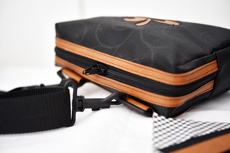 nähen • TS 4 sew along • Hüfttasche • der Reissverschluss