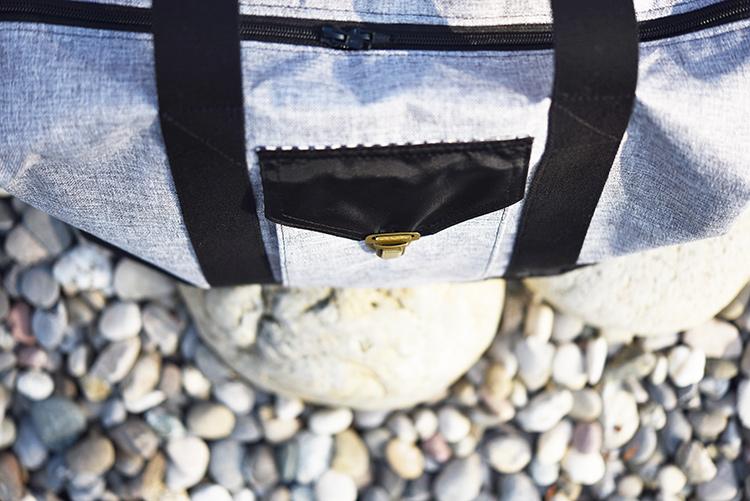 • nähen • TS 4 sew along • JetSet • Blustertasche mit Schnappverschluss