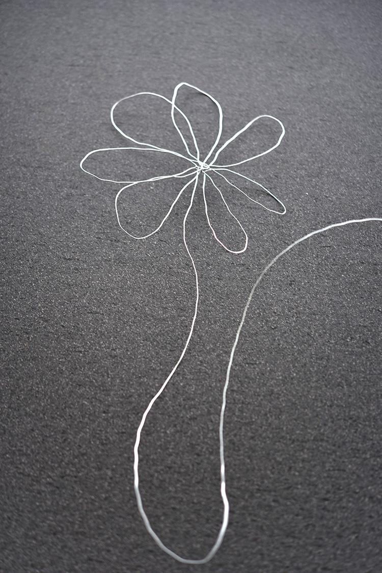 diy • Drahtblumen für einen Strauss • Challenge 5Blogs1000Ideen