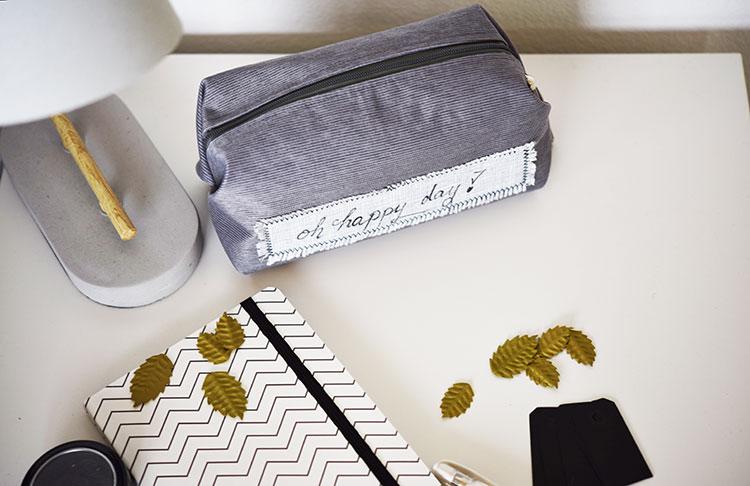• nähen • Taschenspieler 4 Sew Along • die kleine feine PopUp-Tasche • Platz für alles