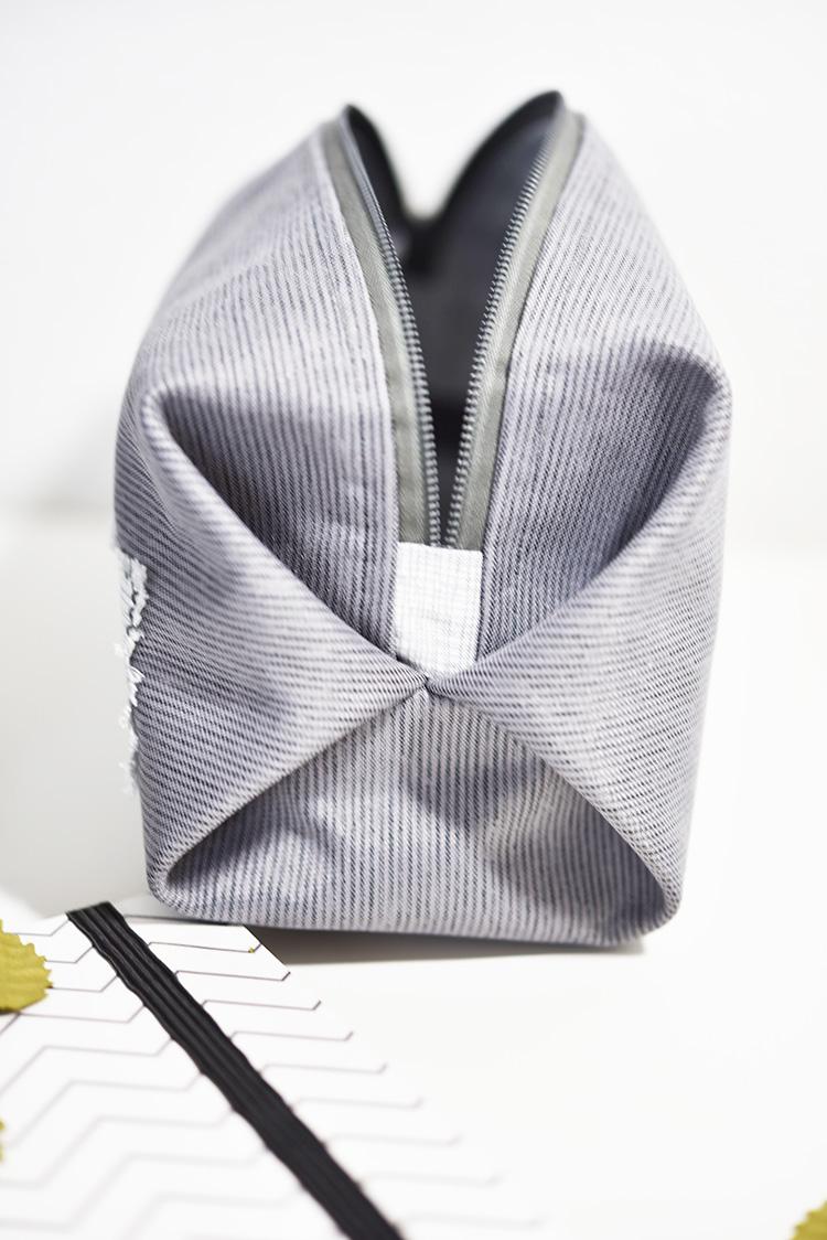 • nähen • Taschenspieler 4 Sew Along • die kleine feine PopUp-Tasche • Reissverschlussende